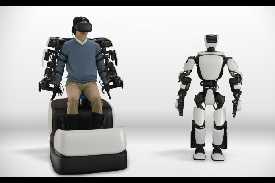 Toyota Unveils Third Generation Humanoid Robot T-HR3 Credit Toyota