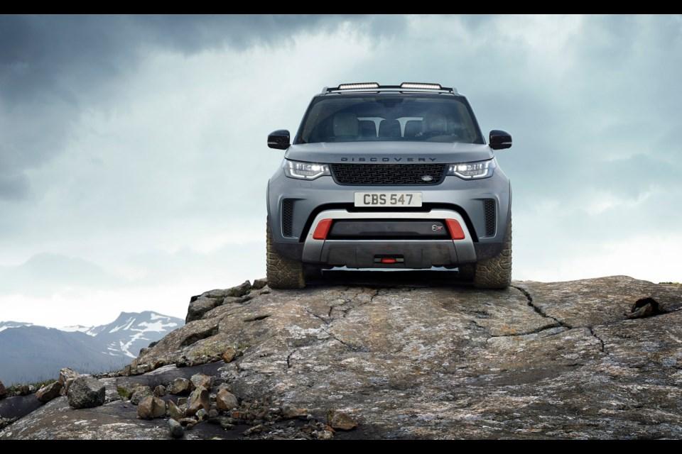 Land Rover Discovery SVX Credit Jaguar Land Rover Canada