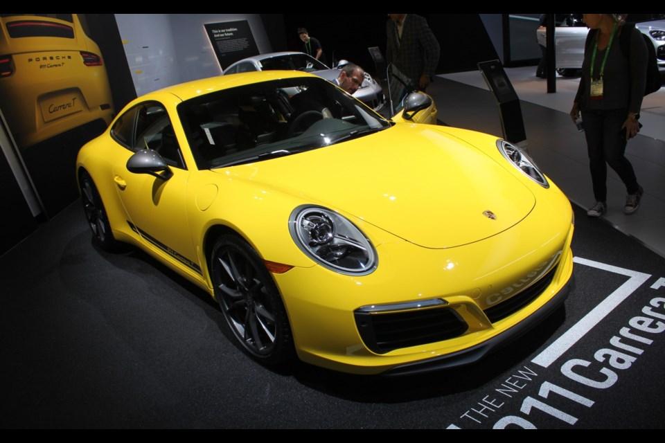 Porsche 911 Carrera T Credit Jacques Deshaies