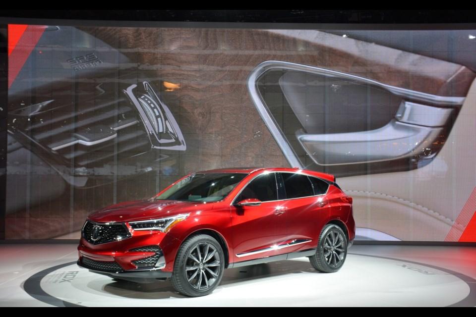 Acura RDX Prototype Credit David Miller