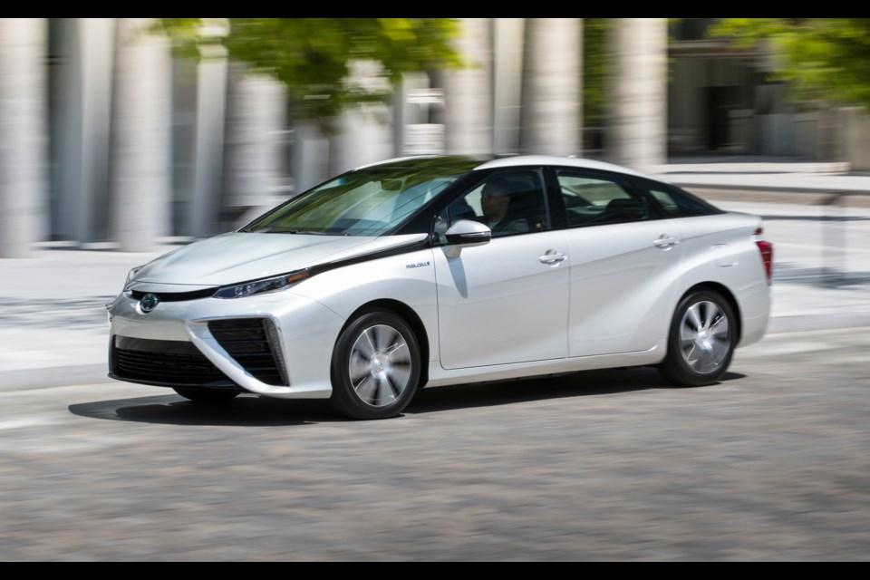 Toyota Mirai 2018 Credit Toyota