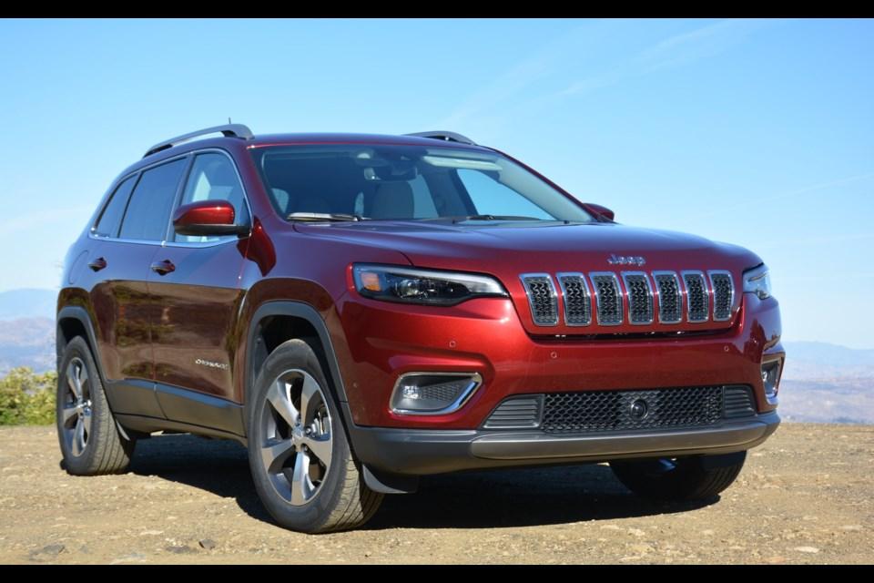 The new 2019 Jeep Cherokee Credit David Miller