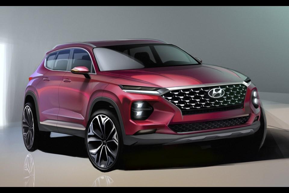 2019 Hyundai Santa Fe To Be Revealed In February Halifaxtoday Ca