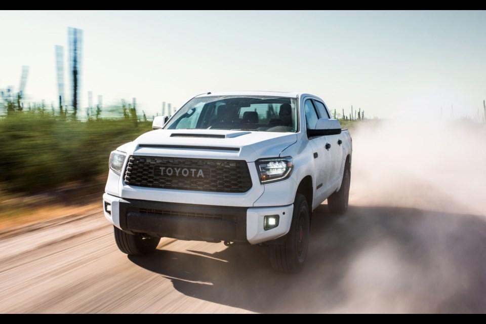 2019 Toyota Tundra TRD Pro Credit Toyota Canada Inc.