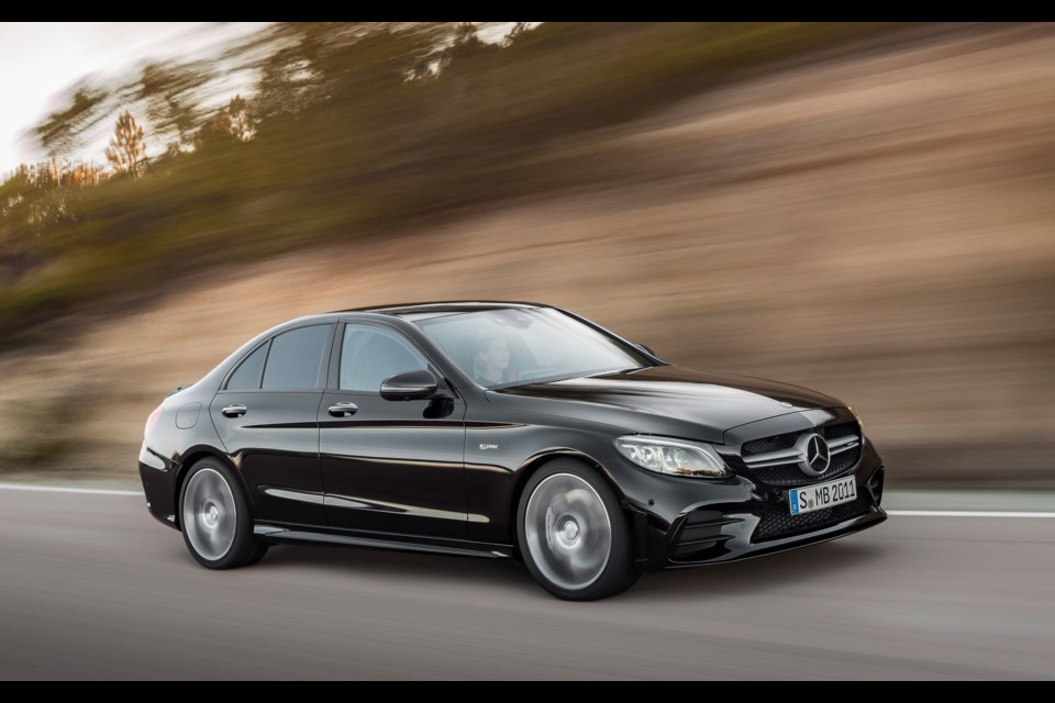 An update for the 2019 mercedes amg c 43 for Mercedes benz credit