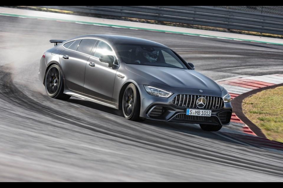 2019 Mercedes-AMG GT 63 S 4MATIC+ Credit Daimler AG