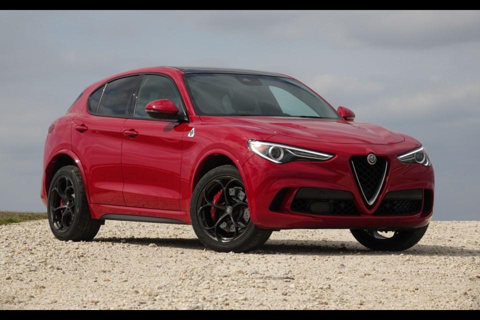 2018 Alfa Romeo Stelvio Quadrifoglio A Wild Beast In An