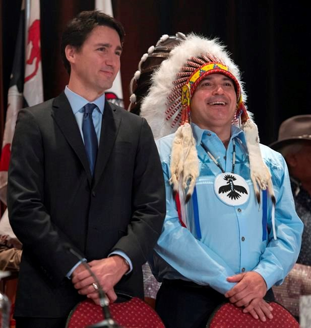 Prime Minister Justin Trudeau stresses need for nation-to-nation relationship
