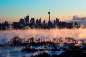 Extreme cold gripping parts of central, eastern Canada this weekend