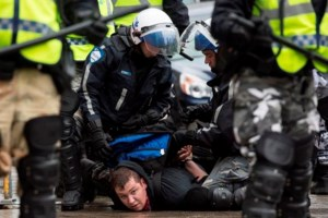 Anti-capitalist May Day protest turns violent in Montreal
