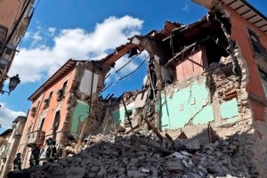 The Latest: Kerry offers condolences after Italy earthquake