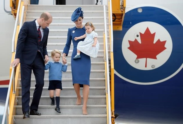 The Royals Arrive In BC - Highlights