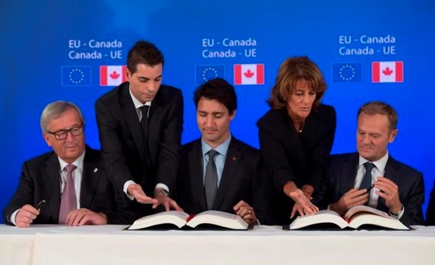 Canada and European Union finally reach trade agreement