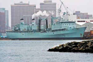 Farewell to HMCS Preserver: Navy's workhorse retired at Halifax ceremony today