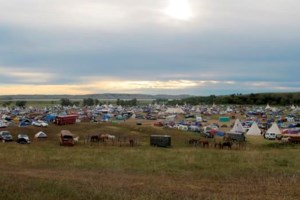 Feds say they won't evict sprawling pipeline protest camp