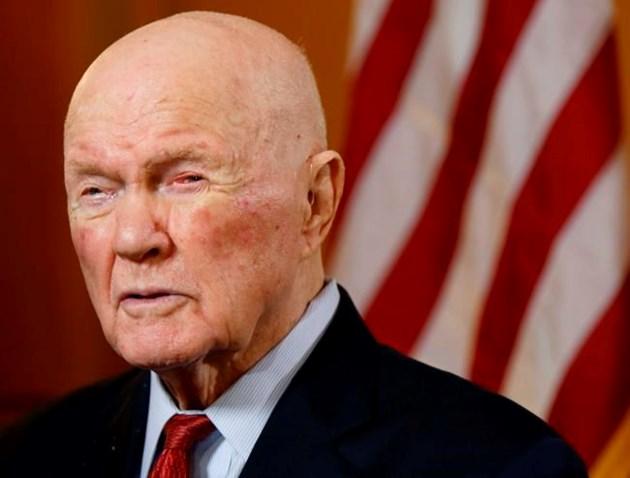 American space legend John Glenn dead at 95