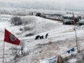 Most oil pipeline opponents leave North Dakota protest camp