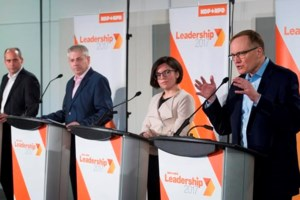 NDP leadership candidates suggest Liberal pledge on pot going up in smoke