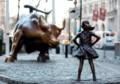 'Fearless Girl' statue opposite bull stays through February