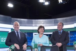 TV debate marks show time for B.C. election; parties look to turn on voters