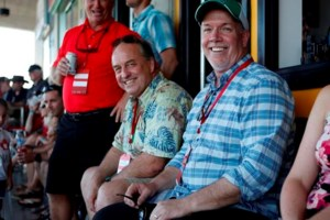 B.C. NDP and Green leaders watch women's rugby sevens finals together Sunday