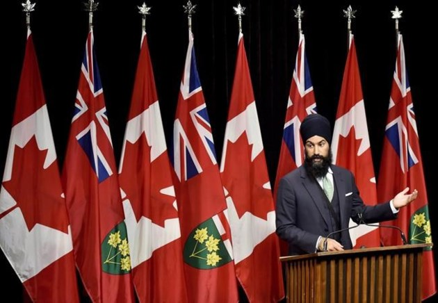 Jagmeet Singh steps down as Ontario NDP deputy leader during federal bid