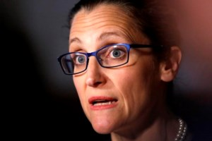 Freeland speech to trumpet Canadian tolerance, but no shouting at Trump please