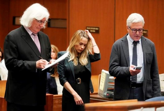 Playboy model who shot nude of unwitting woman in court