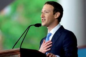 Zuckerberg urges Harvard grads to build a world of 'purpose'