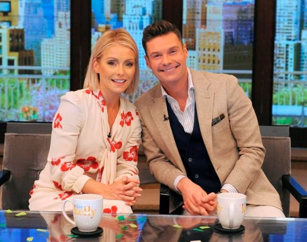Ryan Seacrest named as Kelly Ripa's new Live co-host