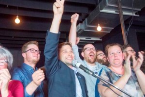 Ex-student leader wins Montreal riding of Gouin for left-leaning Quebec solidaire