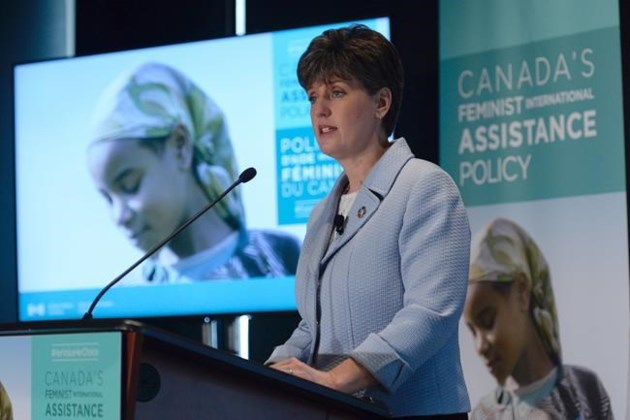 New dollars scarce in Liberal government's new 'feminist' foreign aid policy