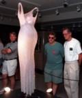 Dress Marilyn Monroe wore to serenade JFK on display in rural Saskatchewan