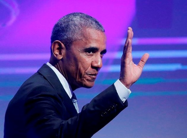Barack Obama decries lack of US leadership on climate change