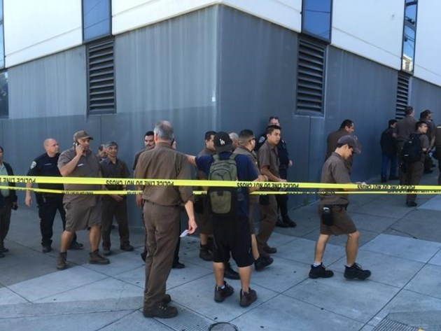 Neighbor says some UPS workers gather on roof