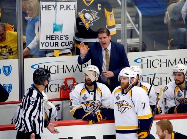DISHON: Penguins, Predators set for Game 6 in National Hockey League finals
