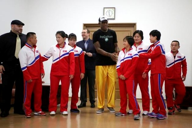 Rodman Gives North Korean Official Trump's 'Art of the Deal