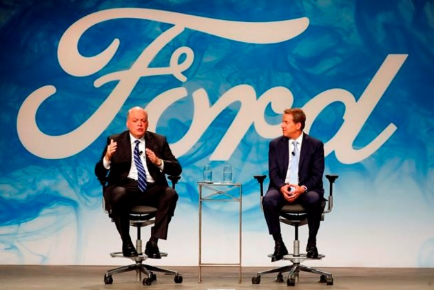 Ford profit edges up on lower tax rate