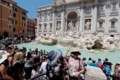 Retired police go on tourist patrol at Rome's Trevi Fountain