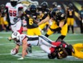Maher's foot carries Redblacks to 37-18 win over Ticats; Hamilton still winless