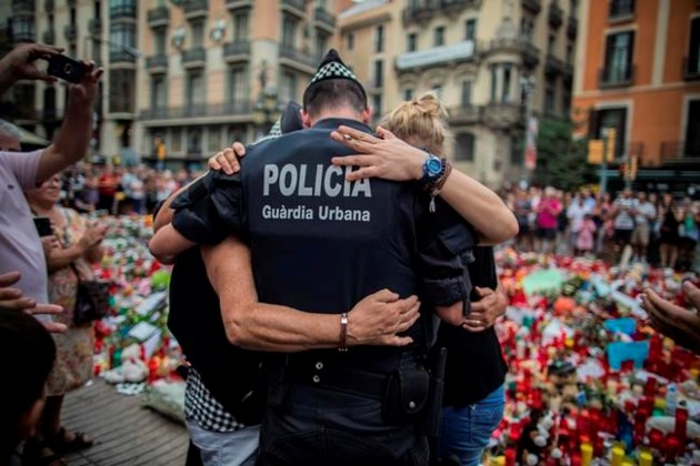 Surviving Spain attacks suspects appear at Madrid High Court