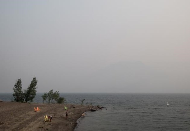 Smoke from BC wildfires affecting air quality in Western Washington