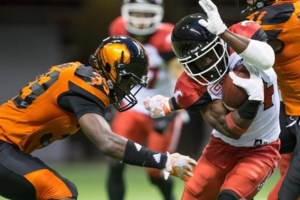 Messam, Parades lead the way as Stampeders grind out 21-17 victory over Lions