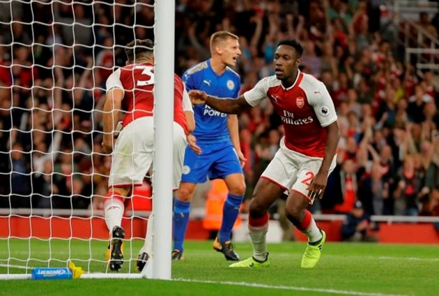 EPL: Arsenal in a insane  match we beat Leicester