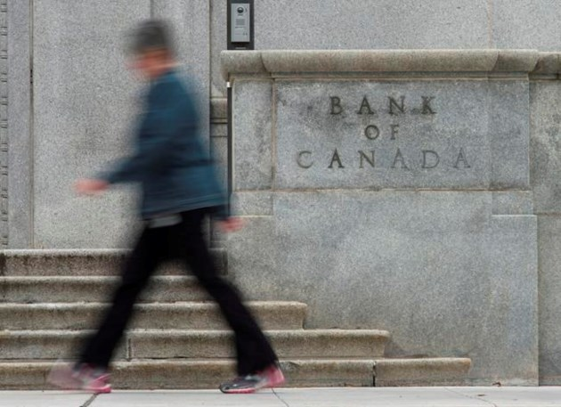 Bank of Canada raises interest rate to 1%