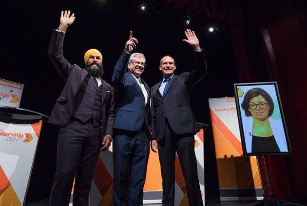Embattled NDP taps Jagmeet Singh to succeed Tom Mulcair, lead federal party