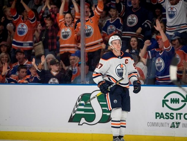 McDavid scores two, Brossoit gets shutout for Oilers against Hurricanes