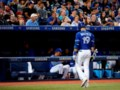 Vargas and four relievers combine on two-hit shutout as Royals top Blue Jays 1-0