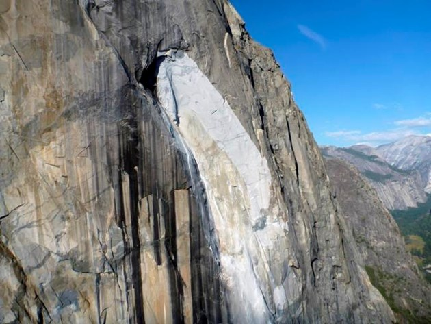 Climber killed by Yosemite rock fall 'saved wife'
