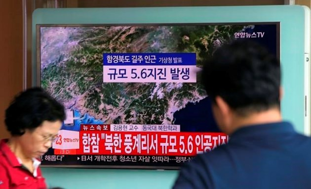 North Korea says it has loaded H-bomb onto ICBM